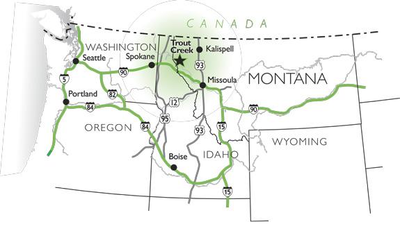 Explorations map